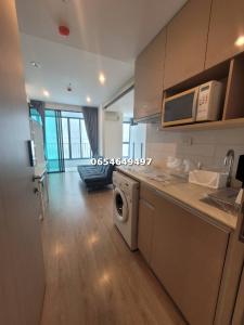 For SaleCondoSiam Paragon ,Chulalongkorn,Samyan : Hot sale, hot, silver, Ideo Q chula samyan, 1 bedroom, 1 bathroom, size 34 sq.m., pine, contact 065-464-9497