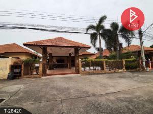For SaleHousePattaya, Bangsaen, Chonburi : Quick sale single storey house Pattaya Paradise Village Bang Lamung Chonburi