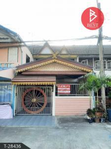 For SaleTownhouseSamrong, Samut Prakan : Townhouse for sale Chonthep Village, Bangplee, Samut Prakan