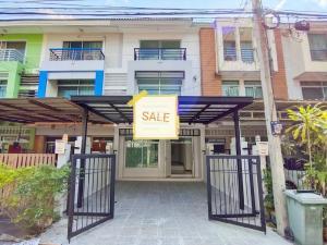 For SaleTownhouseNawamin, Ramindra : Townhome 3 floors, renovated, Vista Park, Watcharapol 10