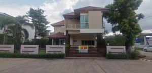 ขายบ้านขอนแก่น : ขายบ้านพักอาศัย 2 ชั้น หมู่บ้านเซ็นทาร่าวิลล์ มี4 ห้องนอน 4 ห้องน้ำ เนื้อที่ 97 ตร.ว. ใกล้กับสโมสรโครงการ