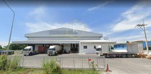For RentWarehousePattaya, Bangsaen, Chonburi : Warehouse / warehouse for rent 3,000 sq m, near Laem Chabang Port, Si Racha, Chonburi