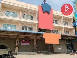 For SaleShophousePattaya, Bangsaen, Chonburi : Sell / rent 3-storey commercial building, Bang Lamung, Chonburi, 18 square meters