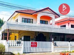 For SaleHousePrachin Buri : Two-story house for sale. Sansuk Thani Village, Kabinburi, Prachinburi