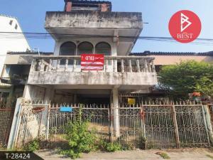 For SaleTownhouseBang Sue, Wong Sawang : Townhouse for sale, CKR Village, Bang Sue, Bangkok.