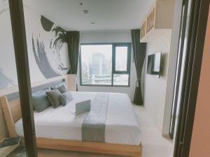 For RentCondoWitthayu,Ploenchit  ,Langsuan : Condo for rent Life One Wireless 38th floor RE63-0193
