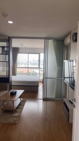 "For RentCondoRatchadapisek, Huaikwang, Suttisan : 🔥 For rent, ""U Delight Huay Kwang"", very beautiful room, corner room, fully furnished 🔥 Ready to move in, contact line id: @arunestate"
