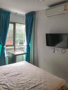 เช่าคอนโดวิภาวดี ดอนเมือง หลักสี่ : 🌟ให้เช่าคอนโด 2ห้องนอน Esta Condo ตรงข้ามบิ๊กซีสะพานใหม่ 🎉เดินถึง bts (สายหยุด)