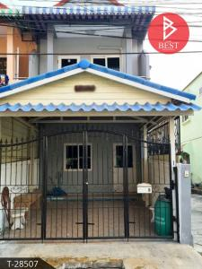 For SaleTownhouseSamrong, Samut Prakan : Townhouse for sale Fuengfah Villa 9 Phase 3 Soi Mangkorn-Nakdi Phraeksa Samutprakarn