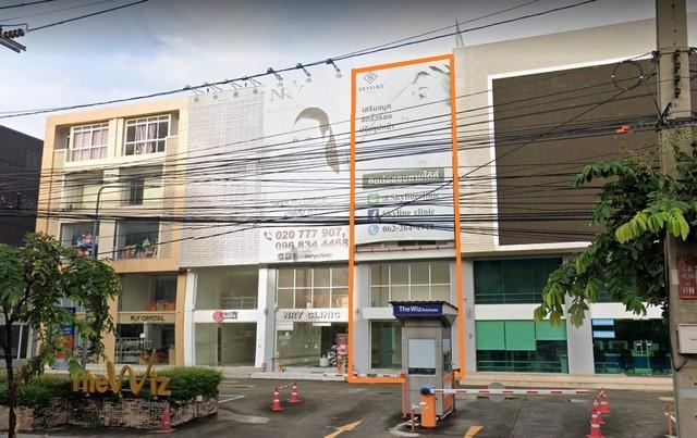 For RentShophouseRatchadapisek, Huaikwang, Suttisan : ให้เช่าอาคารพาณิชย์4.5 ชั้นย่านรัชดา ติดMRTรัชดา ติดถนนรัชดา พร้อมโชว์รูม เหมาะสำหรับทำธุรกิจ