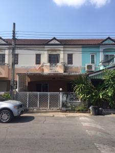 For RentTownhouseRamkhamhaeng,Min Buri, Romklao : Rent a 2-storey townhouse (Main Road), area 24 sq m. Village of K.C. Cluster, Thai Raman Road