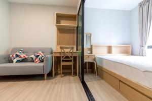 For RentCondoChengwatana, Muangthong : For Rent PLUM MIX CHANGWATTANA  PHASE 4  F.5  Building A 23 SQ.M.  New Room