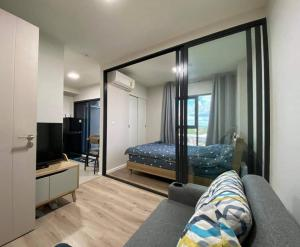For RentCondoKhon Kaen : Ocean Residence for rent, area 25 sq m, 7th floor, east, fully furnished, ready to move in.