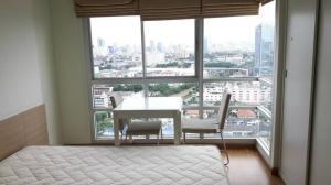 For RentCondoBang Sue, Wong Sawang : Condo for rent, U Delight @ Bang Sue Station 35 sqm., High floor, beautiful view. Fully furnished ** There is a washing machine Line ID: @ppagent