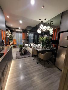 For SaleCondoSiam Paragon ,Chulalongkorn,Samyan : (Position, very beautiful view) IDEO chula samyan for sale, 1 bedroom, 1 bathroom, size 34 sq.m., interested contact 065-464-9497.