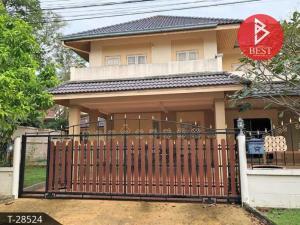 For SaleHousePattaya, Bangsaen, Chonburi : 2 storey detached house for sale, Pattaya Park Hill 4, Bang Lamung, Chonburi