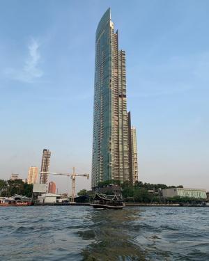 ขายคอนโดวงเวียนใหญ่ เจริญนคร : For Sale 3 Beds Condo The River by Raimon Land