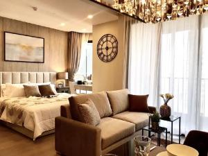 For RentCondoSukhumvit, Asoke, Thonglor : Very good price ✅ Condo for rent Ashton Asoke. Beautiful room, fully furnished, price only 35,000 baht.