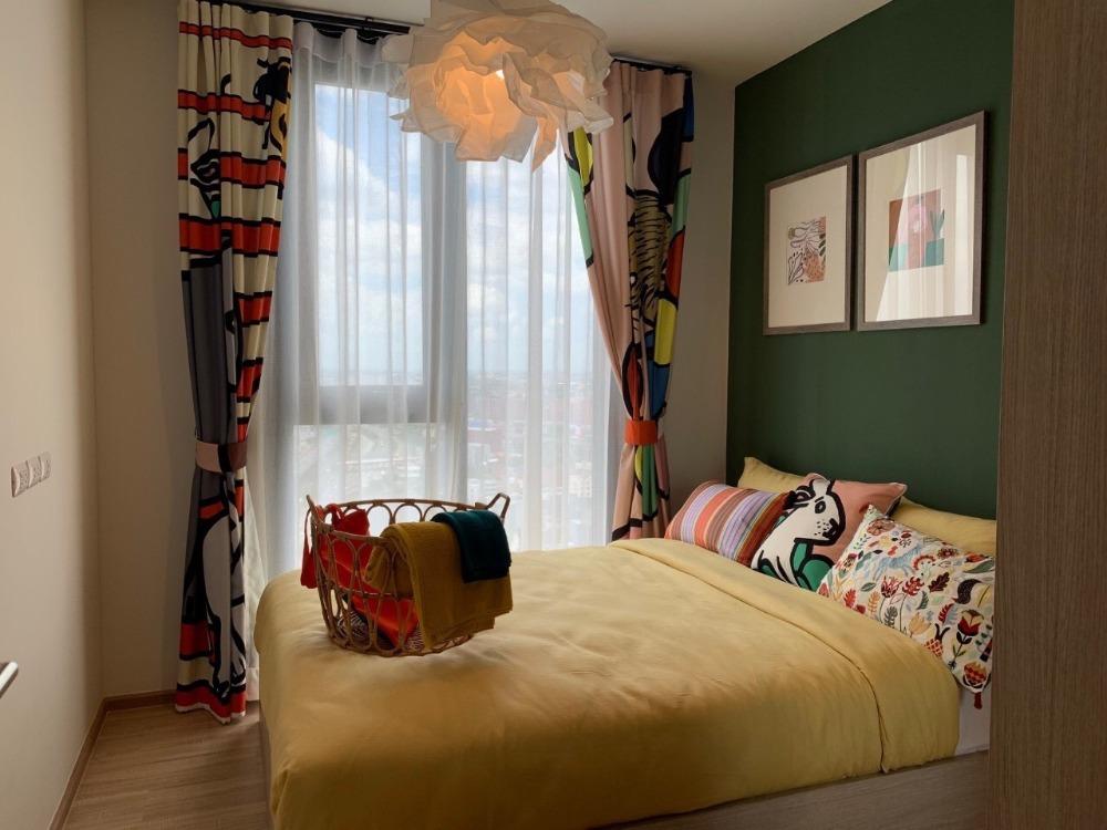 For RentCondoRama9, RCA, Petchaburi : 2802-A😊 For RENT 1 bedroom for rent 🚄 Near Airport Link Ramkhamhaeng 🏢 The Base Garden - Rama 9 The Base Garden-Rama 9 Area: 32.00 sq.m. 💲 Rent: 16,500.- baht 📞099-5919653✅ LineID: @sureresidence