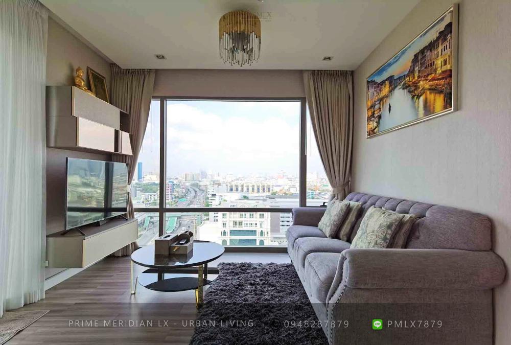 เช่าคอนโดพระราม 3 สาธุประดิษฐ์ : Starview By Eastern Star - Luxury 2 Bedroom Corner Unit / Large Riverfront Balcony / Ready to Move In