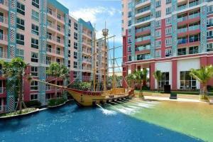 For SaleCondoPattaya, Bangsaen, Chonburi : Quick sale 🎈 sell at loss Grand calibian condo pattaya 🎈 free transfer fee