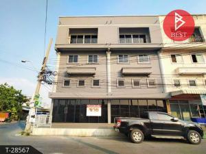For SaleShophouseRathburana, Suksawat : For Sale Wiset Suk Nakorn Commercial Building, Pracha Uthit 79, Bangkok.