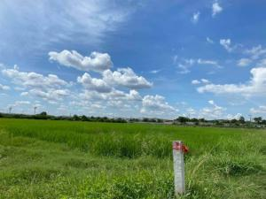 For SaleLandAyutthaya : LS185 Land for sale 13 rai, purple area, Uthai District, Ayutthaya Province, near Rojana Industrial Estate, Ayutthaya
