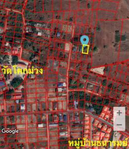 ขายที่ดินลพบุรี : ขายถูก! ที่ดิน 1 งาน 6 แสน ซอยครูผึ้ง น้ำ-ไฟเข้าถึง กกโก เมือง ลพบุรี 092-246-4848