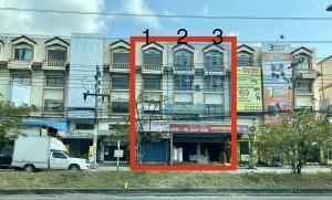 ขายตึกแถว อาคารพาณิชย์มหาชัย สมุทรสาคร : ขายตึก 3 คูหา ราคาพิเศษมาก