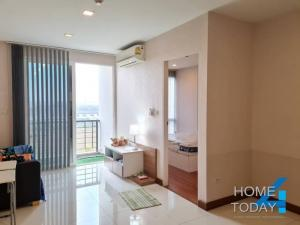 For SaleCondoLadkrabang, Suwannaphum Airport : Sell Condo Air Link Residence, size 36 square meters, beautiful room, airport view.