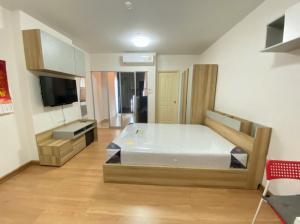 For RentCondoRattanathibet, Sanambinna : For rent Supalai Veranda Rattanathibet, size 30 sq.m., studio type, 14th floor, fully furnished, ready to move in.