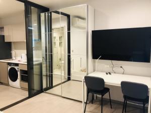 เช่าคอนโดอ่อนนุช อุดมสุข : Life sukhumvit 62 เช่าห้อง Studio วิวแม่น้ำ (ชั้นสูง) เครื่องใช้ไฟฟ้าครบ พร้อมเข้าอยู่ line:@ynv1923x