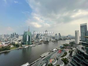 For SaleCondoWongwianyai, Charoennakor : The Residences at Mandarin Oriental 2 Bedroom 3 Bathroom Please contact 0654649497