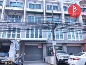 For SaleShophouseLadkrabang, Suwannaphum Airport : 4-storey commercial building for sale (Soi Lat Krabang 14/1), Bangkok