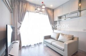 For RentCondoLadprao, Central Ladprao : Luxury dog barking 28,000 !!! With 2 bedrooms at Whizdom Avenue Ratchada-Ladprao The best location in the Lat Phrao line, very large room, size 55sqm, fully furnished, ready to drag the luggage into it, next to MRT Lat Phrao.