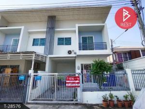 For SaleTownhouseMahachai Samut Sakhon : Urgent sale, 2-storey townhouse, V-Mix 3 Village, Mahachai, Samut Sakhon
