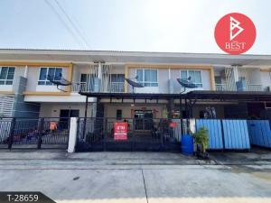 For SaleTownhouseNakhon Pathom, Phutthamonthon, Salaya : Quick sale townhouse. Pruksa Phan Kradee Deaw 2 Village, Nong Pak Coong, Nakhon Pathom