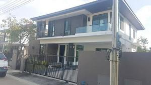 For RentHousePattanakan, Srinakarin : For Rent   Single House Manthana Srinakarin   4 bedrooms, 4 bathrooms