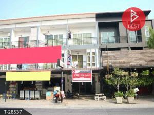 For SaleShophousePattaya, Bangsaen, Chonburi : 3-storey commercial building for sale, 20 square wana, Pa, Chonburi.