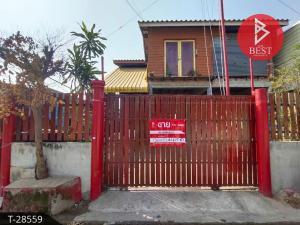 For SaleHouseMahachai Samut Sakhon : Urgent sale, house with land, area 32.0 square meters, Bang Ya Phraek, Samut Sakhon.