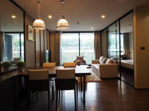 For RentCondoSathorn, Narathiwat : Condo for rent at The Hudson Sathorn 7, 2 bedrooms near BTS Chong Nonsi