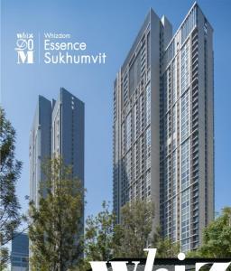 For SaleCondoOnnut, Udomsuk : Sell loss, the cheapest Whizdom essence sukhumvit room before transfer BTS Bangchak.