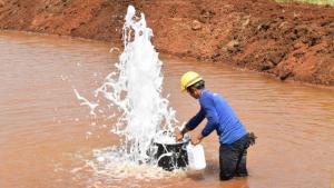 ขายที่ดินกาญจนบุรี : ที่ดินใกล้น้ำพุโซดา อ.ห้วยกระเจา จ.กาญจนบุรี 99 ไร่เศษ อยู่ในพื้นที่ น้ำใต้ดิน 500 ล้าน ลบ. เมตร