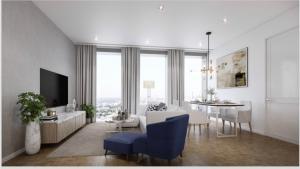 """ขายคอนโดสาทร นราธิวาส : A glamorous modern two-bedroom condominium """"The Ritz-Carlton Residence"""""""