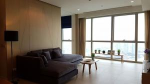 For RentCondoWongwianyai, Charoennakor : Luxury condo for rent, The River Condominium - 3 bedrooms, size 132 sqm., River view in every room.