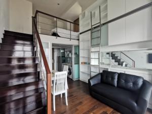 For RentCondoSukhumvit, Asoke, Thonglor : A.N - FOR RENT!!! Condo Ideo Morph 38 (Sukhumvit38) duplex 1Bed 1 Bath 38 sqm. near bts Thonglor.