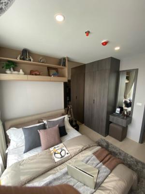 For SaleCondoOnnut, Udomsuk : Sale Elio del nest 1 bedroom, 1 bathroom, free furniture, free transfer, no down payment, call: 086-888-9328