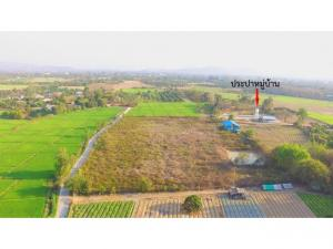 For SaleLandChiang Mai, Chiang Rai : Sell by owner Price talk. Agricultural / Residential Land Water, concrete road lights, two sides 11-3-63 rai