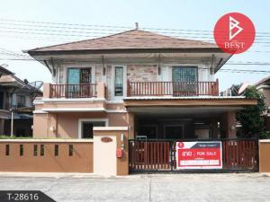 For SaleHousePattaya, Bangsaen, Chonburi : 2 storey detached house for sale Piyawat Bangsaen Project Phase 3, Chonburi City