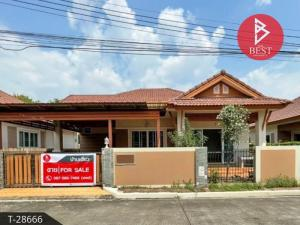 For SaleHousePattaya, Bangsaen, Chonburi : House for sale Nattawadee Village 4, Sriracha, Chonburi, good condition, ready